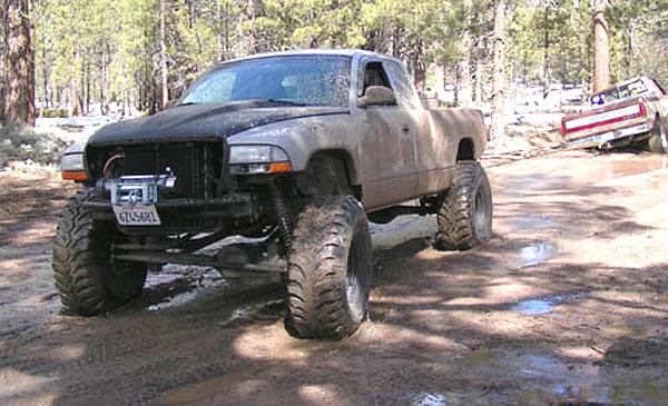 Dodge Dakota Solid Axle Swap Coil Overs
